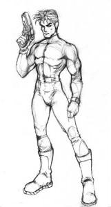 Техника рисования Аниме — Мужское тело