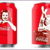Дизайн юбилейных банок Coca-Cola